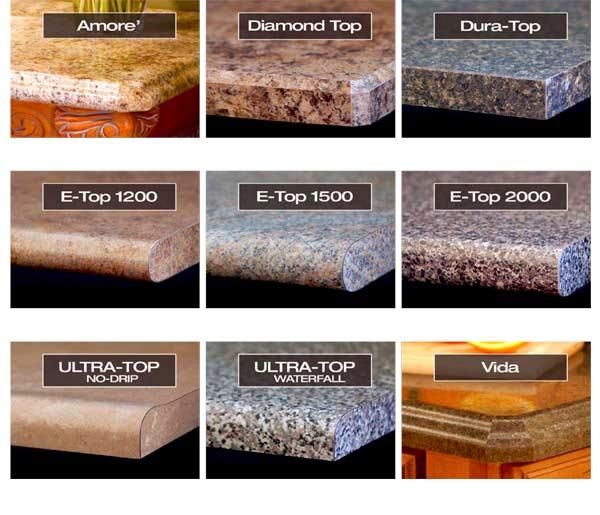 Precision Countertops Edge Profile